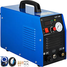 VEVOR 50A Air Plasma Cutter Dual Voltage 110-220V Portable Digital Welding Machine with IGBT Inverter 12mm Max Cutting Thickness