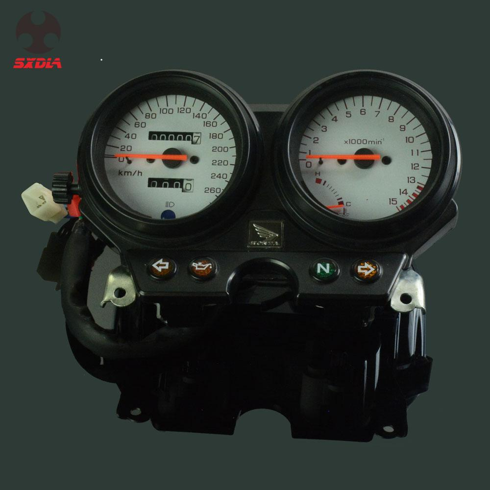 Motorcycle Speed Meter Speedometer Odometer Tachometer Gauges For <font><b>HONDA</b></font> CB600 <font><b>Hornet</b></font> <font><b>600</b></font> 1996 1997 1998 1999 2000 <font><b>2001</b></font> 2002 image