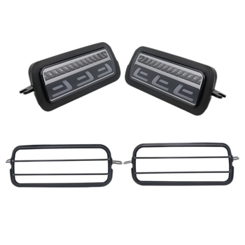 2Pcs Led Daytime Running Light for Lada Niva 4X4 1995+ Turn Signal Light Drl Car Headlight Replacement Parts with Lamp Cover