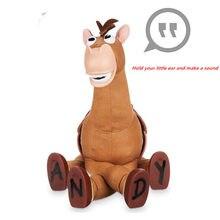Story-figuras de acción de Buzz lightyear para niños, juguete que puede hacer un sonido, Woody, caballo, Bullseye, regalo de PVC, 40cm