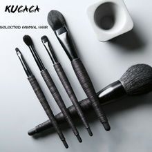 Professional Makeup Brushes Set High Quality Goat & Pony Hair Make Up Full Function Studio Synthetic Make-up Tool Kit
