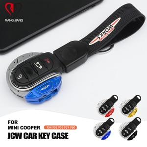 Image 1 - ABS JCW نمط سيارة الغطاء الواقي مفتاح فوب حالة مفتاح سلسلة ل ميني كوبر F54 F55 F56 F57 F60 سيارة  التصميم مفتاح غطاء JCW نمط