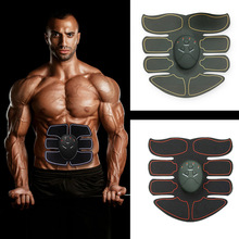 Muscle Stimulator Abdominal Exerciser Fitness Abs Stimulator EMS Slimming Machine Massager Electric Abdomen Trainer Machine