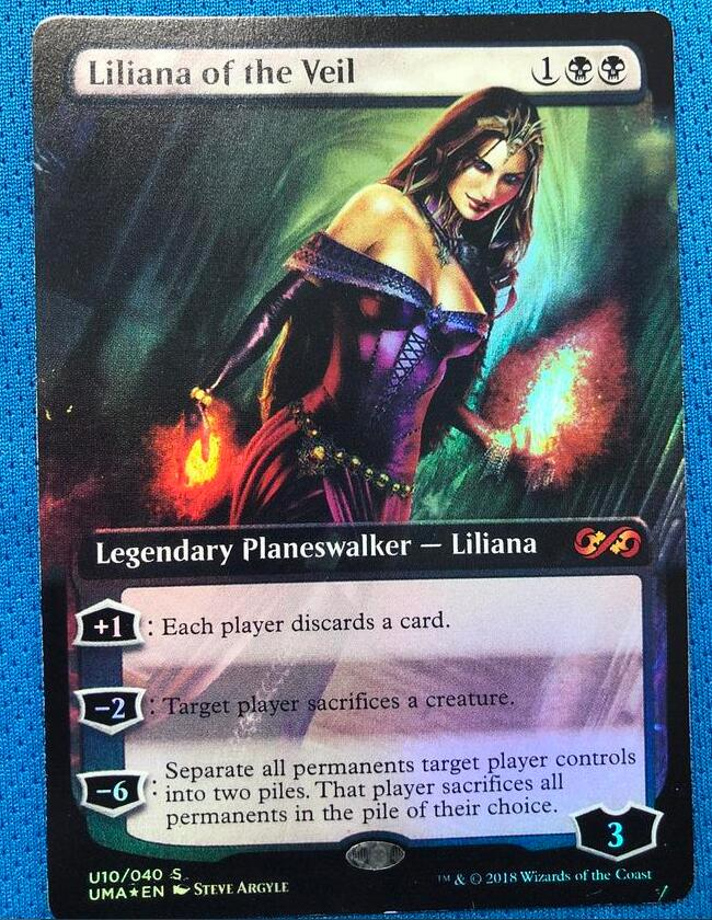 Liliana Of The Veil PUMA Foil Magician ProxyKing 8.0 VIP The Proxy Cards To Gathering Every Single Mg Card.