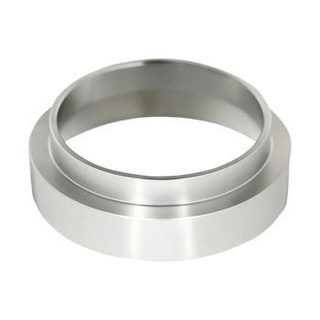 Stainless Steel Coffee Dosing Ring Dosing Funnel Replacement Practical Easy to Use 51mm for Espresso Funnel Tool stainless steel 51mm 53mm 58mm coffee powder ring intelligent dosing espresso barista bowl funnel portafilter coffee accessories