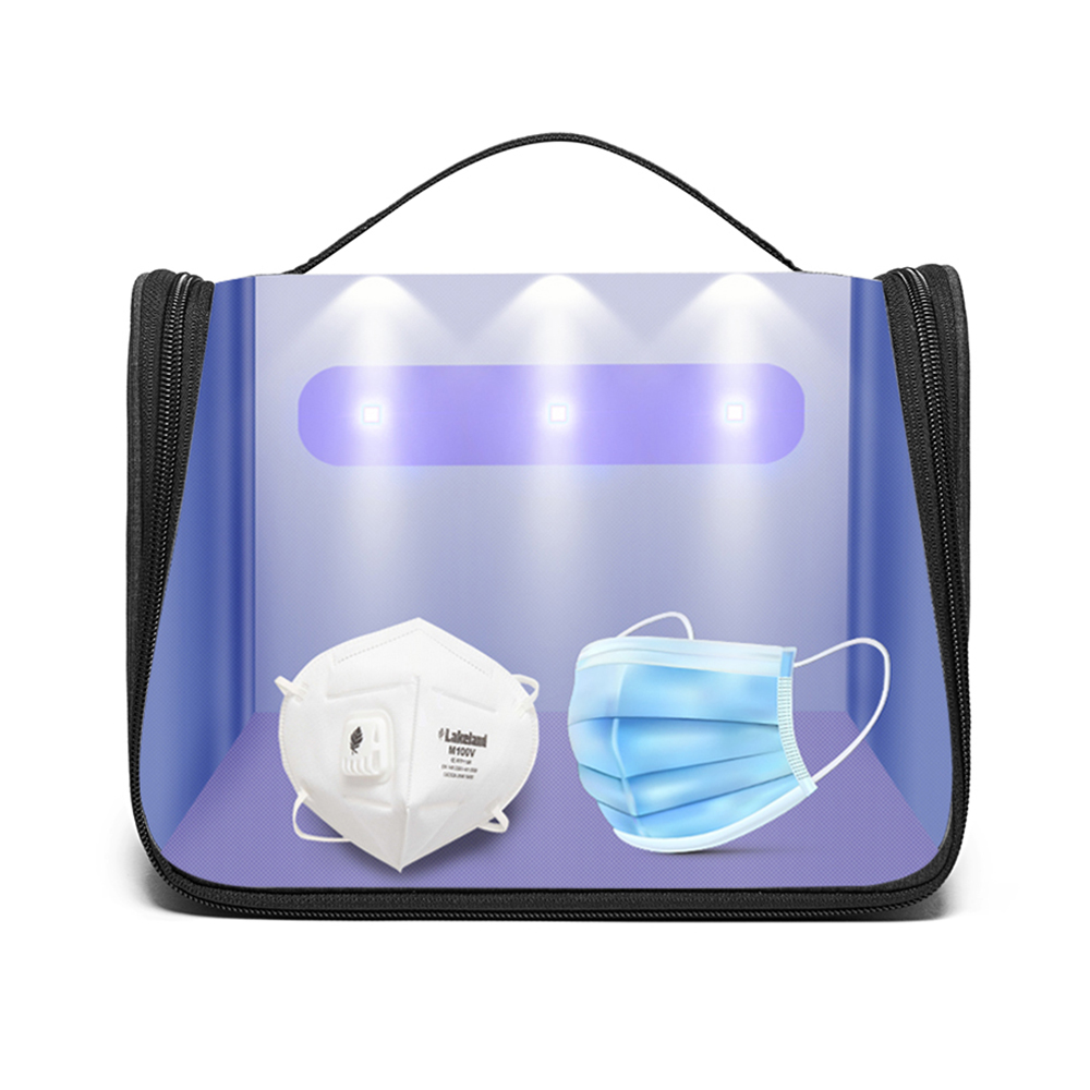 Ultraviolet Sterilizer Bag Portable LED UV Disinfection Box Personal Cleaning Pack Beauty Tools for Woman Underwear Baby Milk