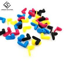 4PCS 40PCS 4 Color Universal Refillable Cartridge Color Rubber Plug Air Hole Plug CISS Parts Accessories