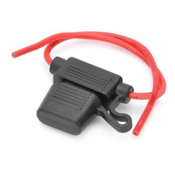 New 12V 40A Professional CE Standard Teyes cc2 Fusible Blade Inline Car Fuse Holder WaterProof for Car MotoBike Dustproof Cover image