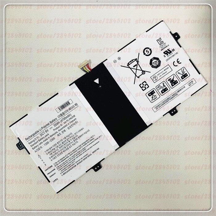 GYIYGY-Batería de ordenador portátil de AA-PLVN2AW, 7,6 V, 4700mAh, 35W, para SAMSUNG ATIV Book 9, 930X2K-K01 930X2K-K02 930X2K-K03