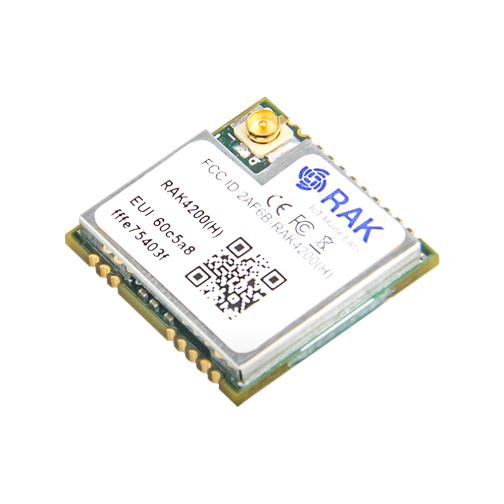 RAK4200 Low Power Long Distance LoRa Module, STM32L071 SX1276 LoRaWAN Communication Module