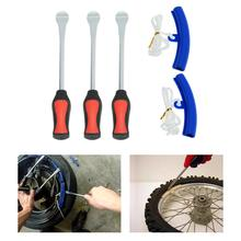 Dragonpad  Tire Lever Tool Spoon +  Rim Protectors Tool Kit for Motorcycle Bike Tire Change Remove