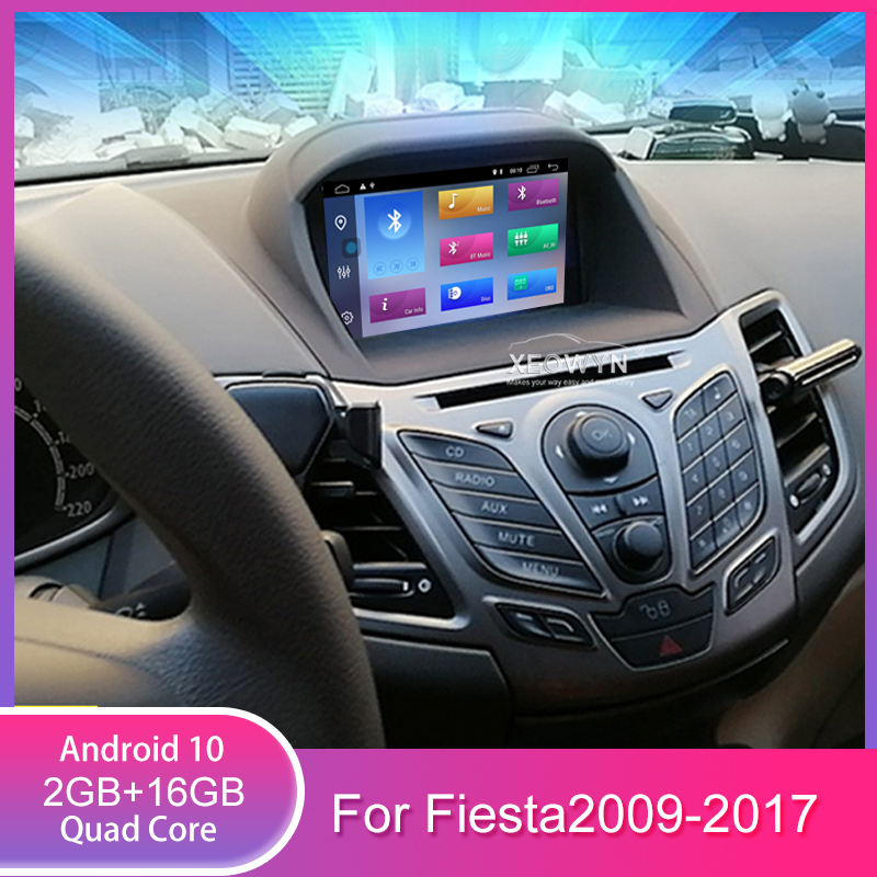 Quad Core Android 10 Car Dvd Player Gps For Ford Fiesta 2009 2010 2012 2013 2014 2015 2016 Navigation In Dash Stereo Radio Car Dvd Player Gps Dvd Car Gpscar Player Gps Aliexpress