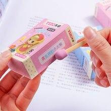 Ładna dziewczyna gumka gomas de borrar escolar borracha materiał papelaria guma kawaii gumki do mazania gumy silikonowej gumka papiernicze