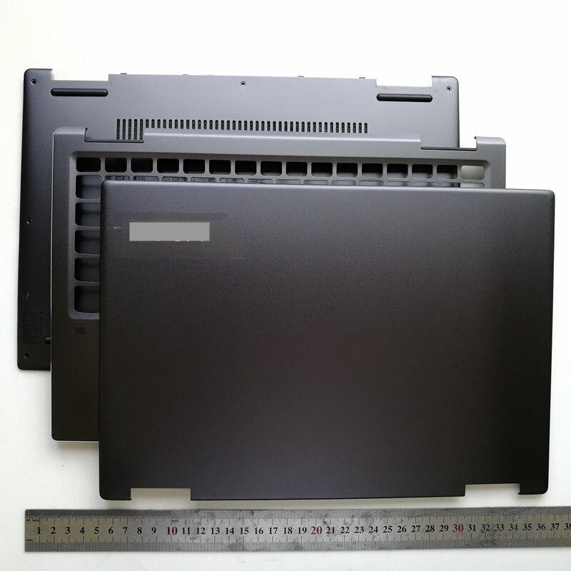 Nouveau coque supérieure pour ordinateur portable lcd couverture arrière + étui supérieur + boîtier inférieur pour lenovo yoga 720-13 yoga 720-13IKB