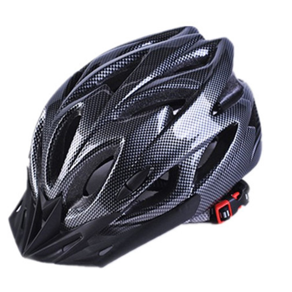 Bicycle-Helmets Back-Light Mountain-Road-Bike Black Men Women Molded Mtb Integrally Matte title=