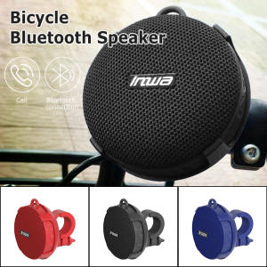 Shower Speaker Bicycle-Column Boombox Soundbar Woofer Bikes Hands-Free Waterproof Portable
