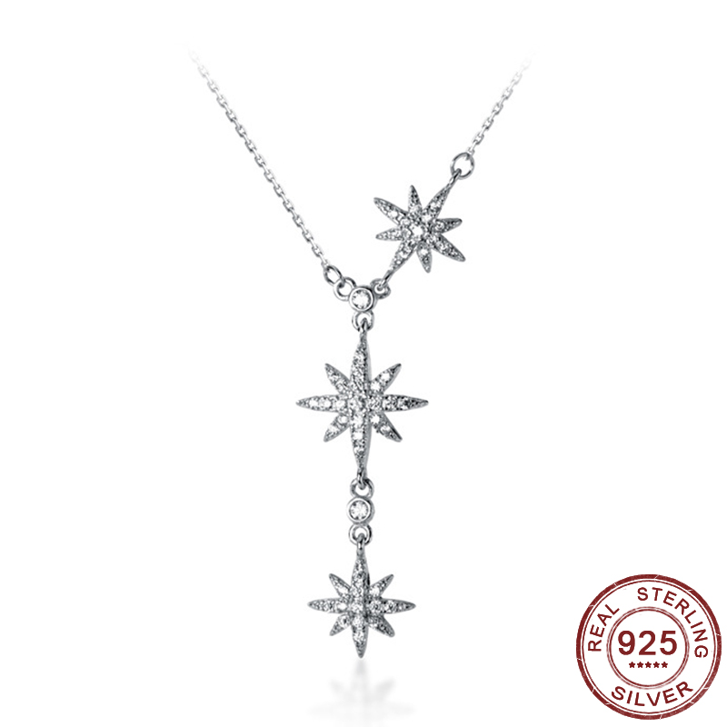 Women's necklaces, 925 sterling silver pendants,rose gold charm collars, 2020 fashion jewelry, women's gifts, holiday gifts