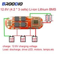 BMS 1S 2S 10A 3S 4S 5S 25A BMS 18650 lto Li Ion Lipo Batteria Al Litio circuito di protezione Equilibrio di bilanciamento equalizzatore Bordo di Modulo