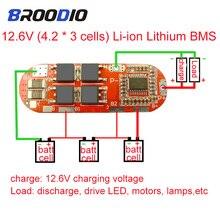 BMS Módulo de placa ecualizadora de circuito, 4S 1S, 2S, 10A, 3S, 5S, 25A, BMS, 18650 lto, protección de litio Lipo