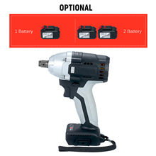 Impact-Wrench Battery Electric Power-Indicator Torque Cordless with 1/2in-Chuck 980 Real-Time