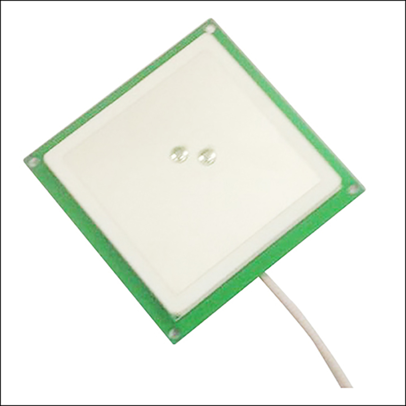 YJT-T0060  Uhf 60*60mm 4dBi Ceramic Antenna With MMCX(SMA/TNC/N)  Connector Used For Access Control