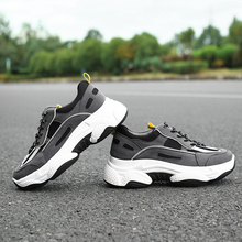 Fashion Black Sneakers Autumn Chunky Sneakers Women 2019 New Women Shoes Sneakers dames Soft Platform Sneakers Glitter Sneakers silver chunky sneakers women brand glitter sneakers women 2019 new women shoes sneakers dames black sneaker winter autumn women