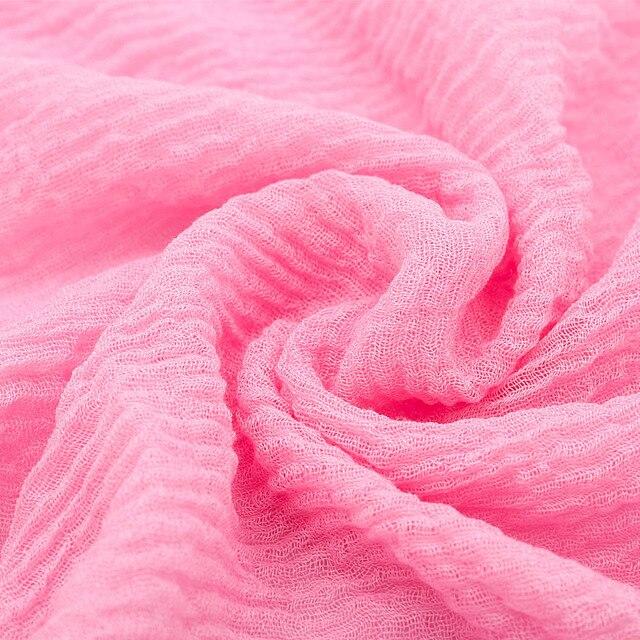 Prezzo all'ingrosso 90*180 centimetri donne musulmano piega sciarpa del hijab femme musulman morbido cotone foulard scialli islamici del hijab e avvolge 6