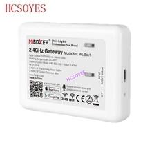 Milight (iBox2 משודרג גרסה) WL Box1 2.4GHz WiFi חכם אור/WiFi iBox בקר DC5V RF מרחוק wifi RGB אור אלחוטי