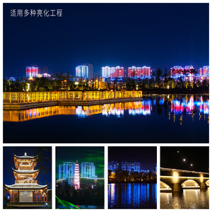 10pcs 6w 12w LED Wall Washer Landscape Light DC 24V dmx512 Outdoor Lights Wall Linear Lamp Floodlight 100cm Wallwasher