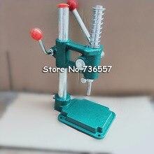 Stoff Taste Maschine Tuch taste Maker Stoff Dachte Taste Werkzeug 24L 1,5 cm Taste Form und Tasten Liefert