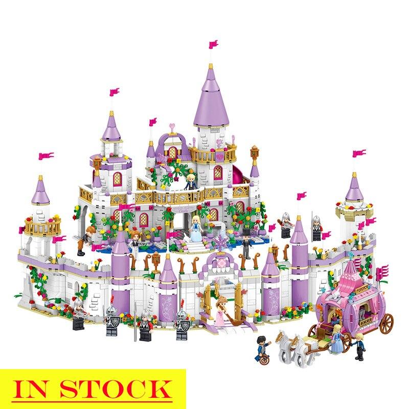 In Stock Girls Friends QL1106 731PCS Building Blocks Prince Princess Windsor Castle Bricks 41148 Toys for Girl Christmas Gift|Blocks| |  - title=