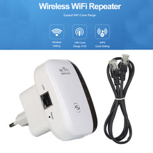 WiFi Wireless Repeater WiFi Extender 300Mbps Amplifier WIFI Signal Booster Network Amplifier Support WPS AP Function Repeater