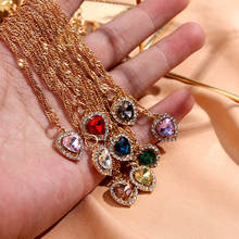 Женское колье с подвеской flatfoosie модное ожерелье золотого