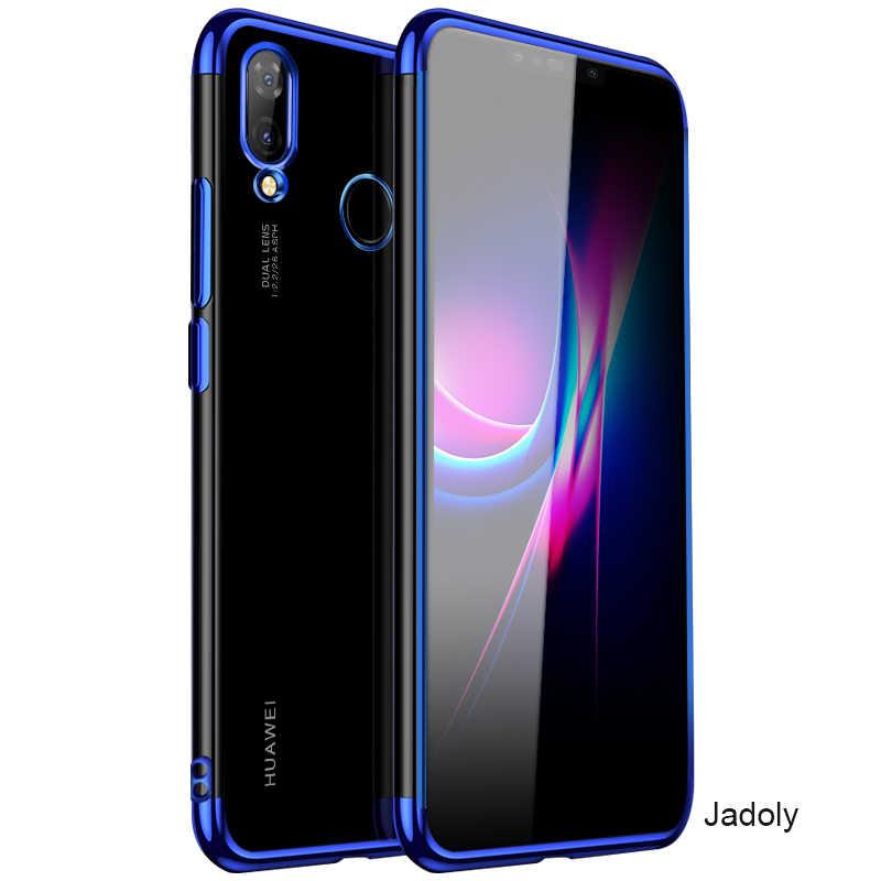 電着ケース Huawei 社ノヴァ 3I ケースシリコーンメタリック耐震バックカバー Huawei 社ノヴァ 3I ケース 1080p スマートプラス
