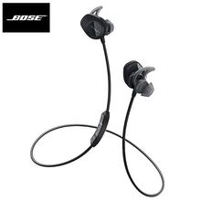 Bose SoundSport bezprzewodowe słuchawki Bluetooth Sweatproof słuchawki sportowy zestaw słuchawkowy inteligentne słuchawki douszne basowe sterowanie liniowe z mikrofonem tanie tanio Elektrostatyczne CN (pochodzenie) wireless Zwykłe słuchawki instrukcja obsługi Etui ładujące Kabel do ładowania do 32Ω