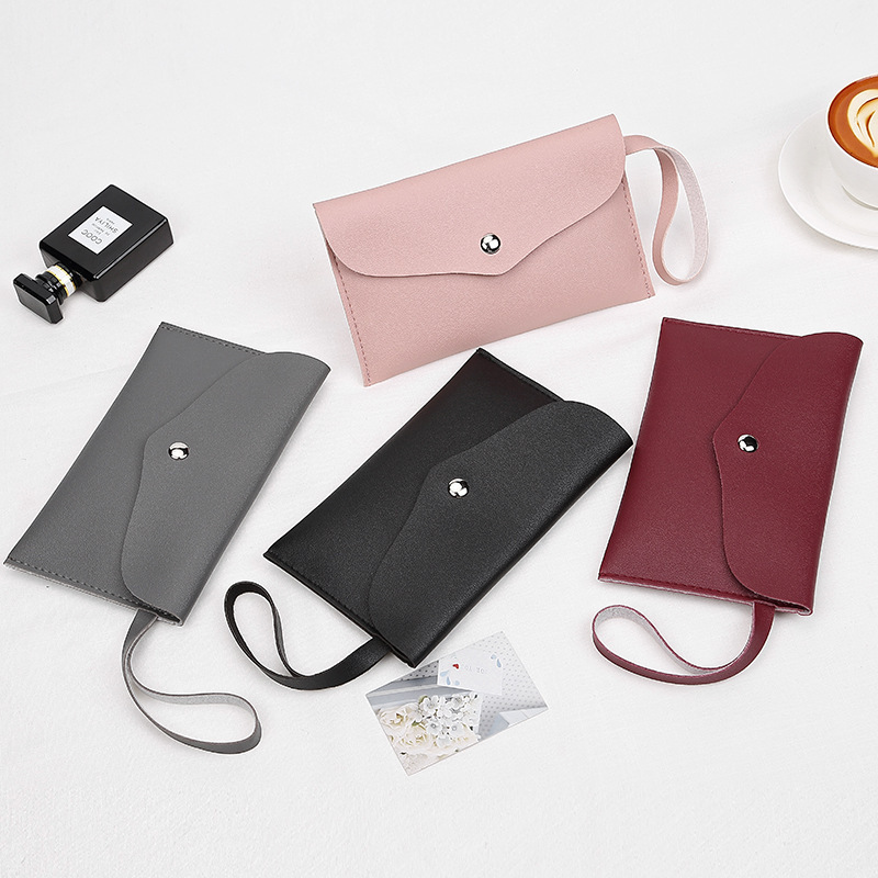 Purse Stall Supply Of Goods 2018 Spring Casual New Style PU Leather South Korea Napa Texture Simple Carrying Bag