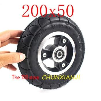 Neumático para silla de ruedas de Scooter de alta calidad 200X50 (8x2) sólido/relleno de espuma 200x50 para Razor E100 E125 E200 Scooter Vamo