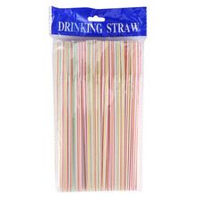 Drinking Straws Alike-Supplies Party Plastic Disposable 100pcs Elbow Multi-Colored Event
