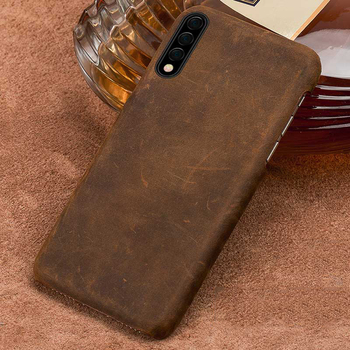 Genuine PULL-UP Leather Case for Honor 9X Pro 10 20 8X 8C Retro Cover For Huawei P20 Pro mate 20 P30 Pro Lite Y9 Y7 P SMART 2019