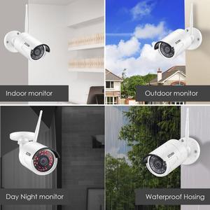 Image 2 - ZOSI 8CH 1080P H265+ Wifi NVR 2.0MP Security Camera System 2/6pcs IR Outdoor Waterproof CCTV Camera Wireless Surveillance System