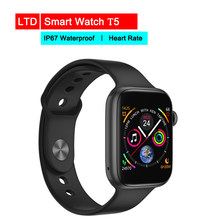 Smart Watch T5 For Android IOS Electronics Smart Wristband Fitness Tracker IP67 Waterproof Heart Tracker(China)