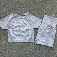 0207 Gray Short Set