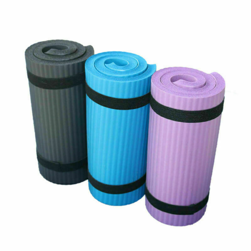 NEW Yoga Pilates Mat Thick Exercise Gym Non-Slip Workout 15mm Fitness Mats