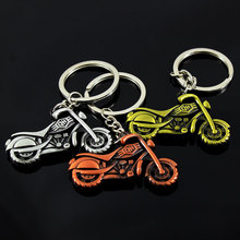 Fashion Cool Car Motorcycle Pendant Alloy Keychain Metal Key Ring Cute Creative Gift Sports Mo...