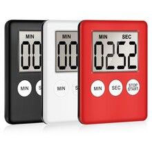 Мини ЖК-цифровой дисплей кухонный таймер квадратный кухонный Будильник с таймером магнитные часы секундомер для сна таймер