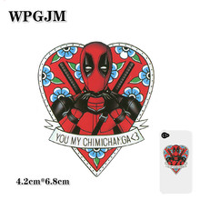 1-50PCS Marvel Deadpool  Sticker Suitcase Personality Laptop Trolley Case Skateboard Guitar Waterproof