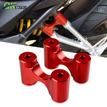 Motorcycle Rear Footrests Extension Foot Rests Passenger Extension FOR Honda CB650R Accessories on CB 650 R 650R 2018 20119 2020