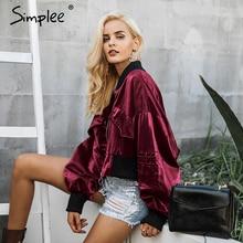Simplee Fashion bat sleeve women jacket coat outerwear & coa