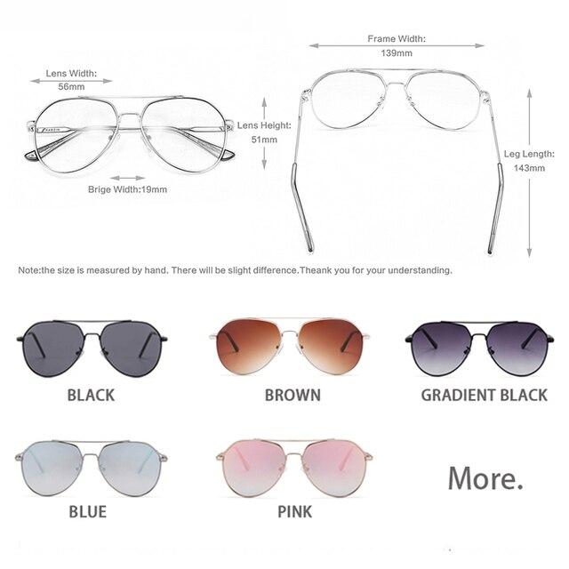 Alloy Frame Pilot Sunglasses 5