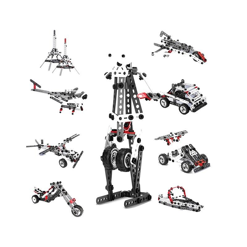 Оригинальный spin master Meccano 10 видов Набор для творчества модель многофункциональные части головоломка набор игрушек